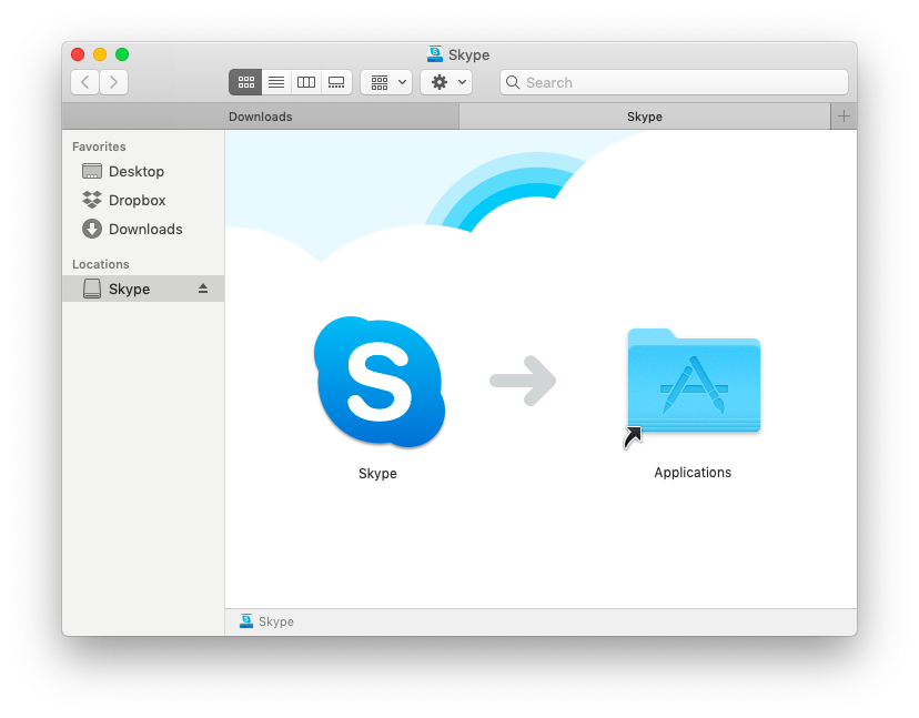 install skype on mac