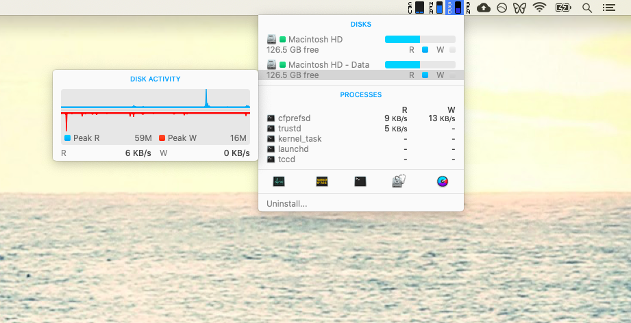 monitor Mac health with iStat Menus