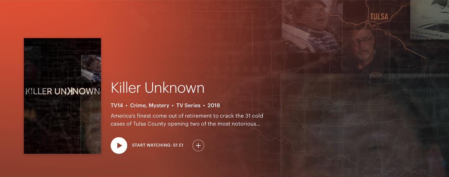 Killer Unknown Hulu