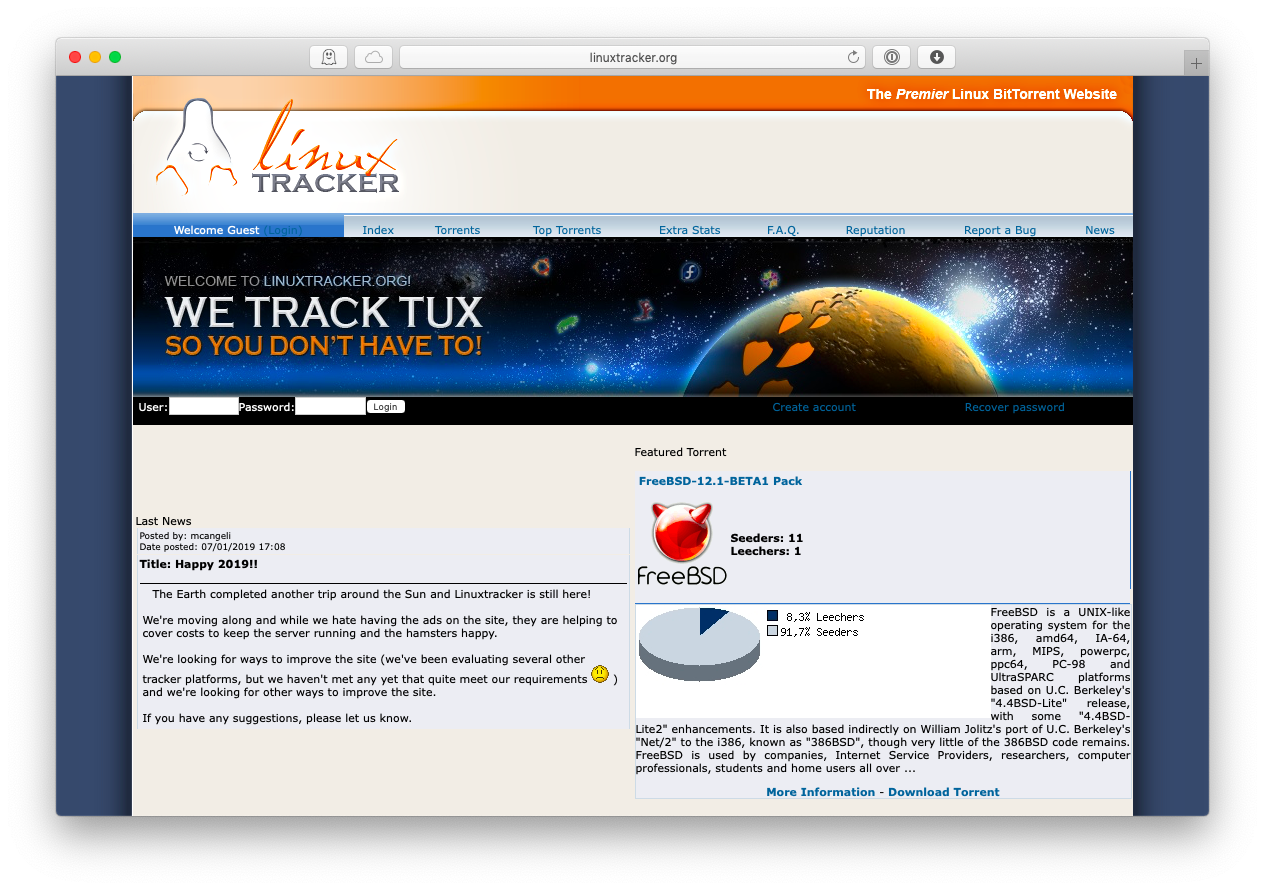 Linux torrent site mac
