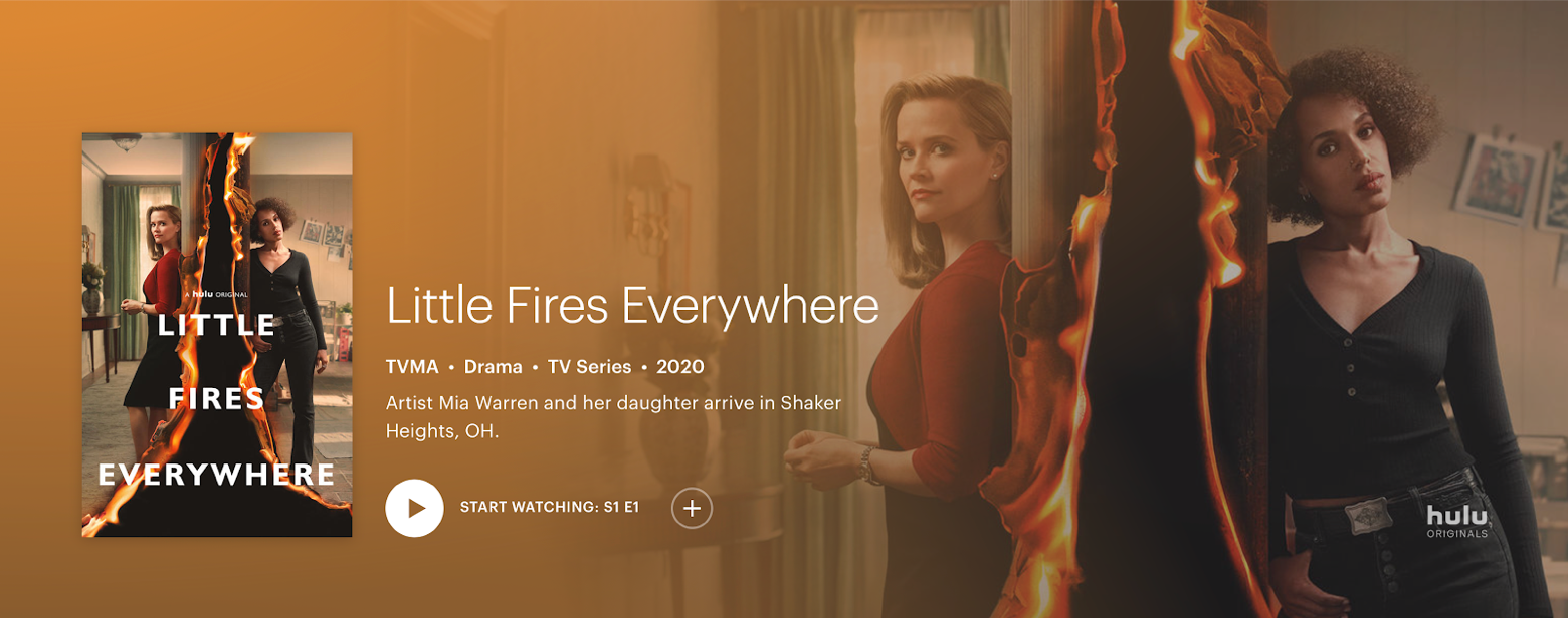 Little Fires Everywhere Hulu