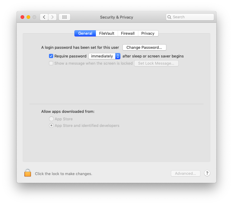 lock your Mac immediately