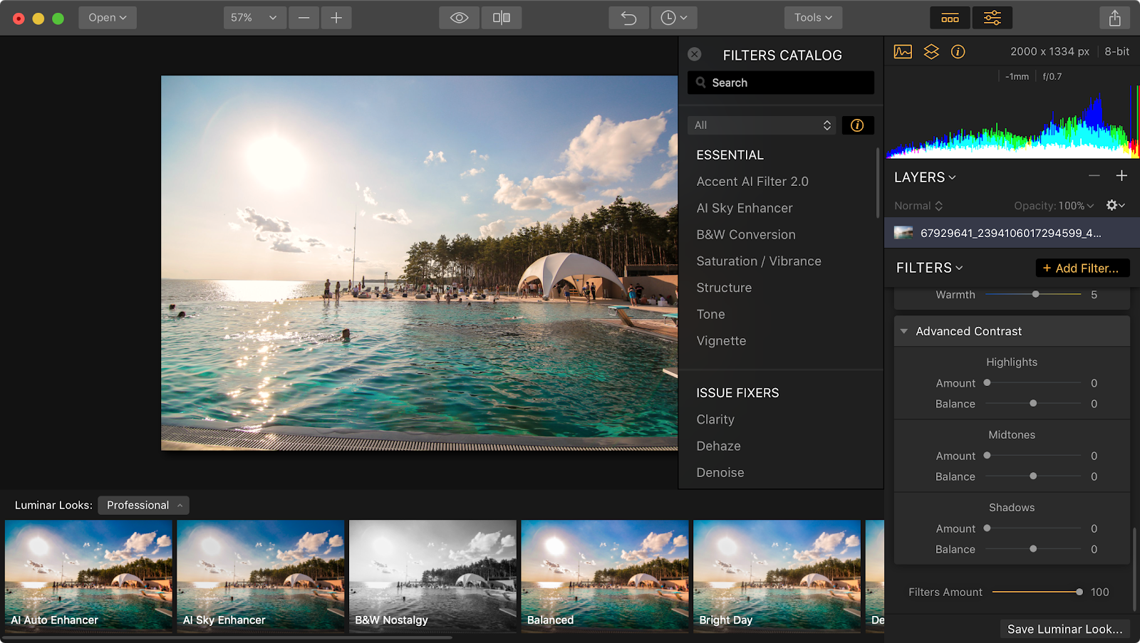 Luminar Flex smart photo editor