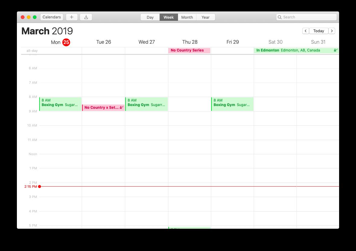 mac calendar app