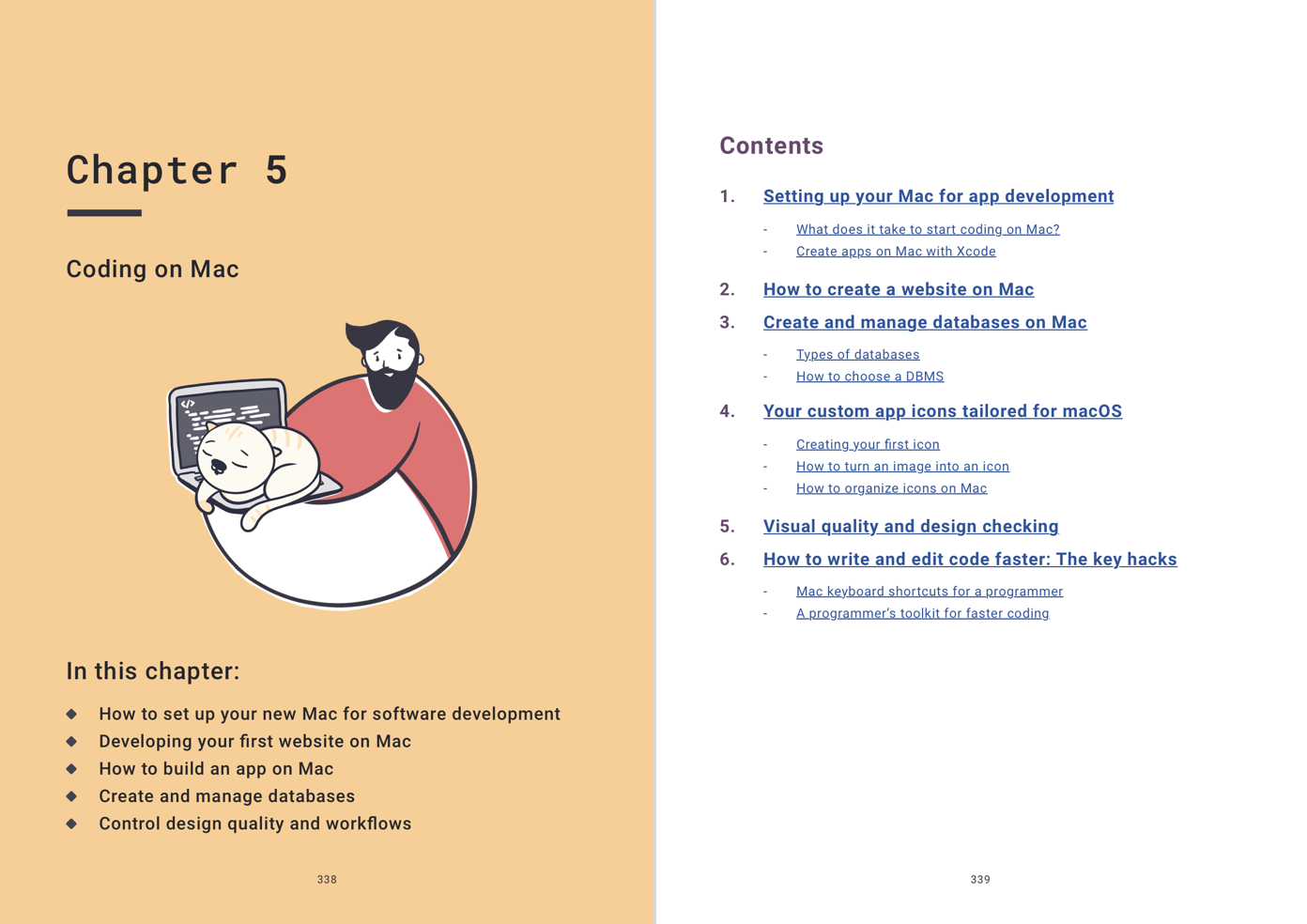 Mac user book chapter five
