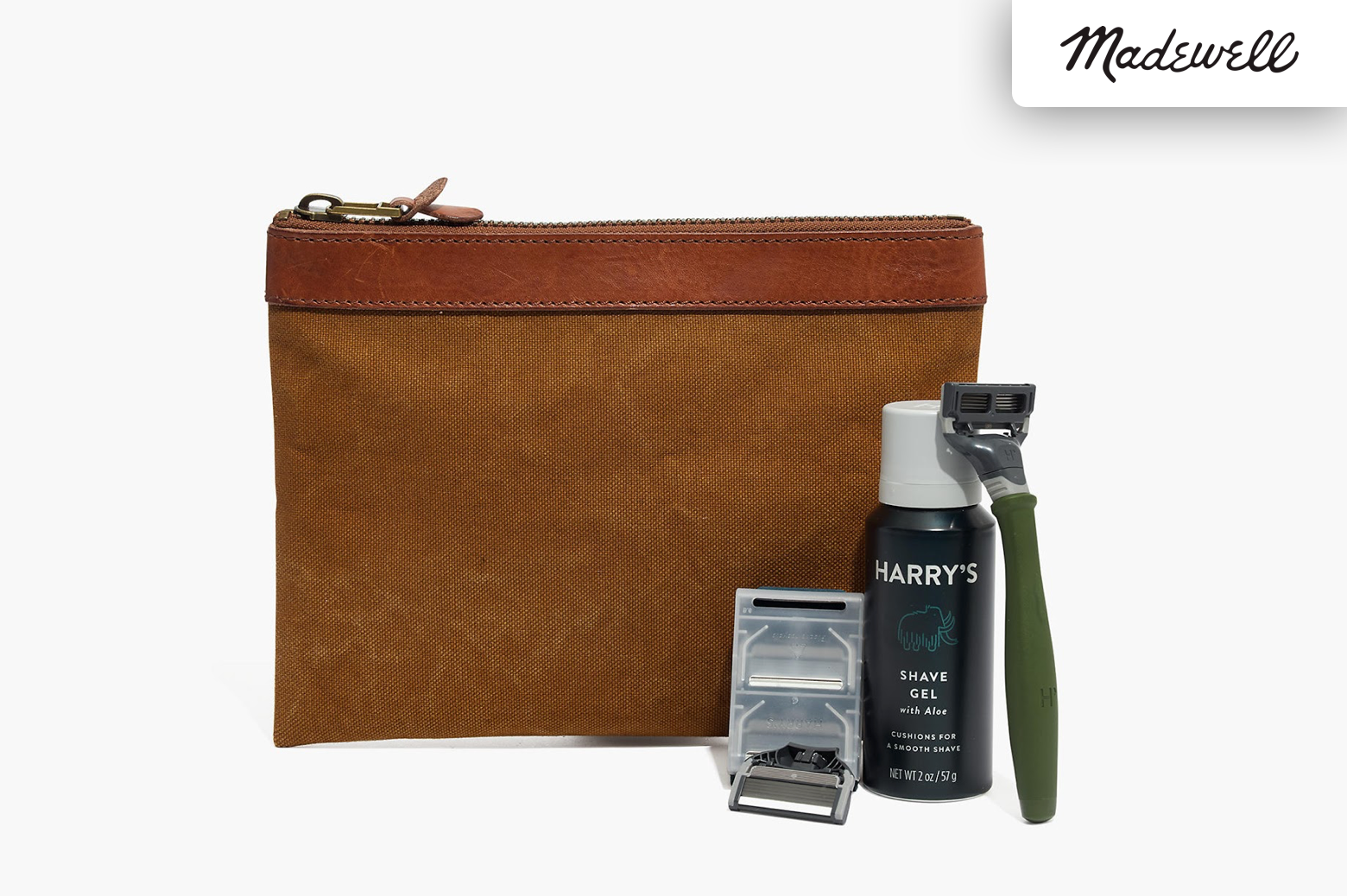 Madewell and Harry's stylish shaving kit