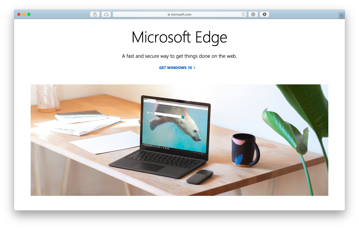 microsoft edge mac browser