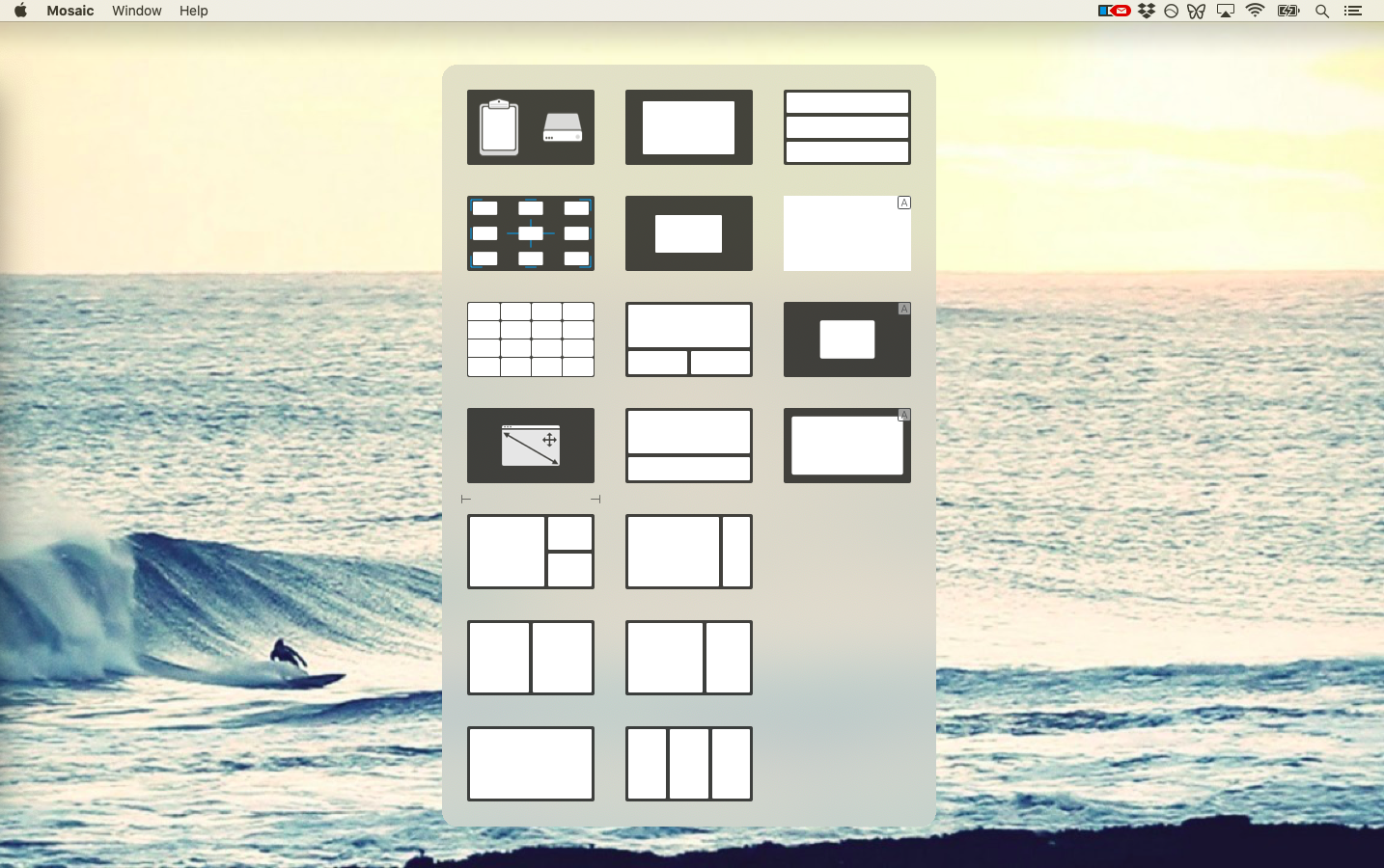 Mosaic app window manager Mac iPad