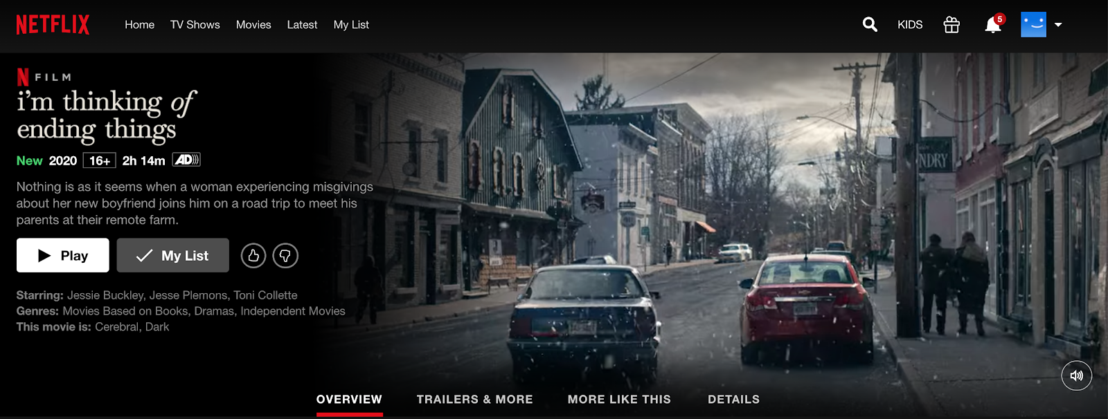 Netflix as an alternative to watch YouTube movies