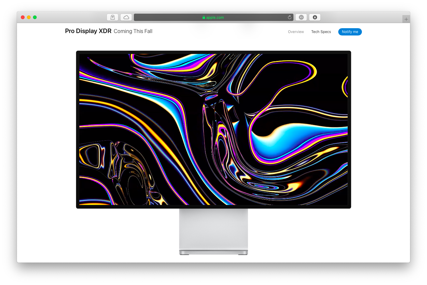 new mac pro display xdr