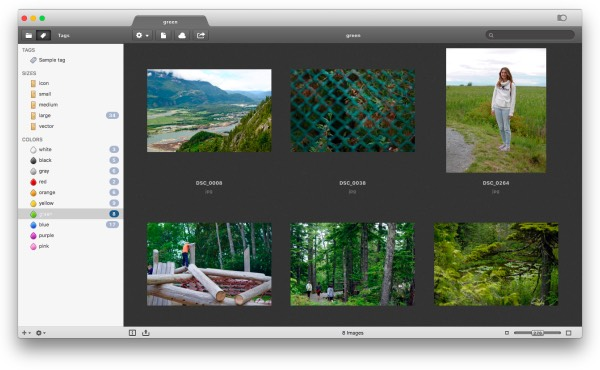 Organize gallery with Pixa app