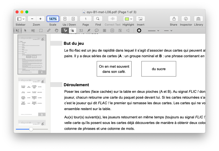 pdf pen mac document