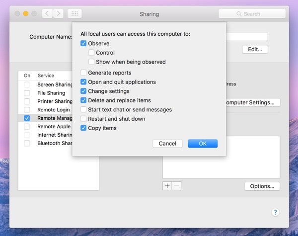 Remote desktop through vpn on mac