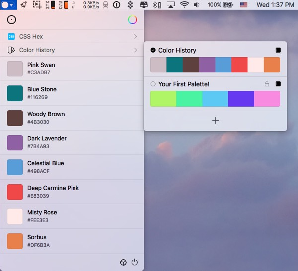 SIP color picker