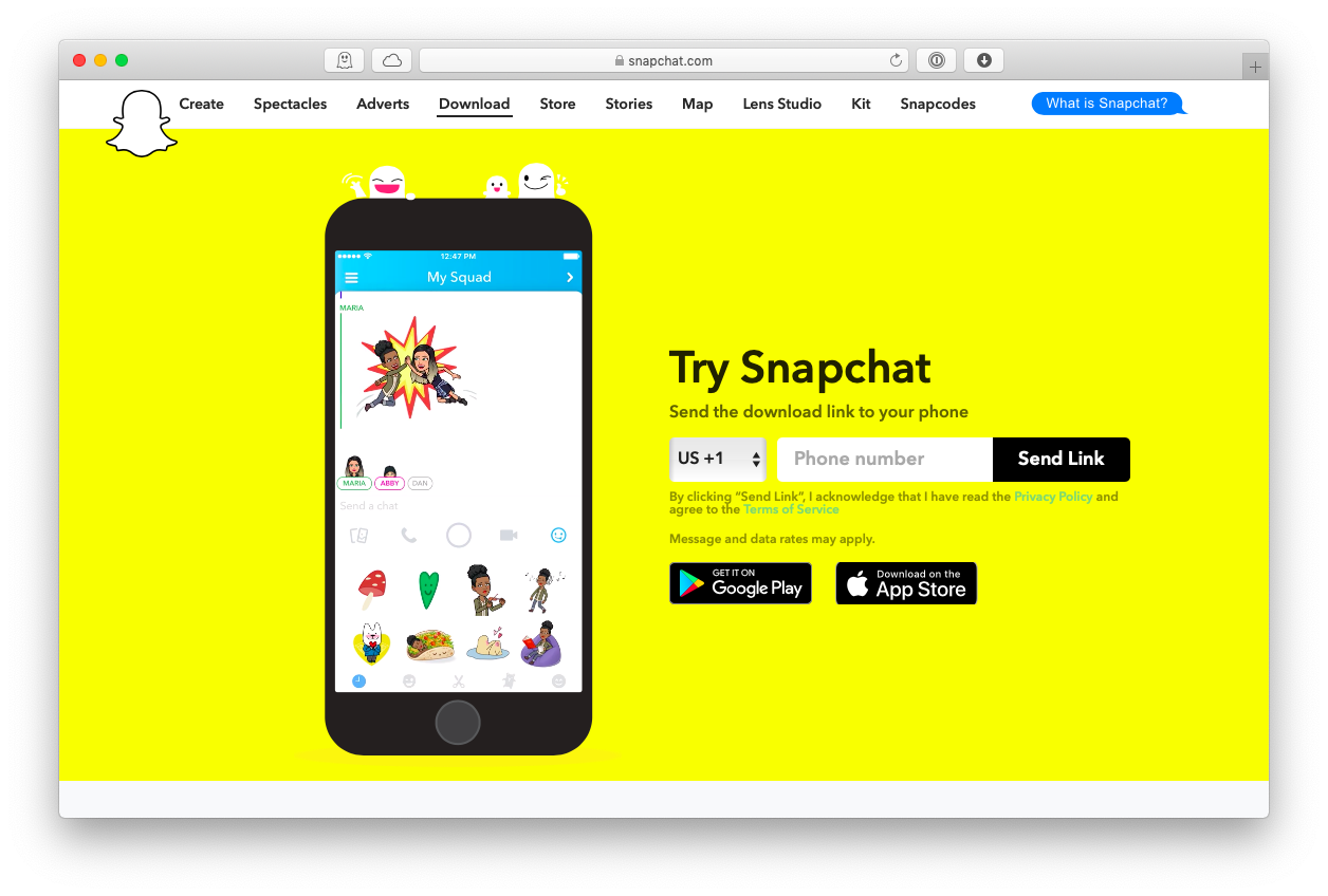 snapchat mac download