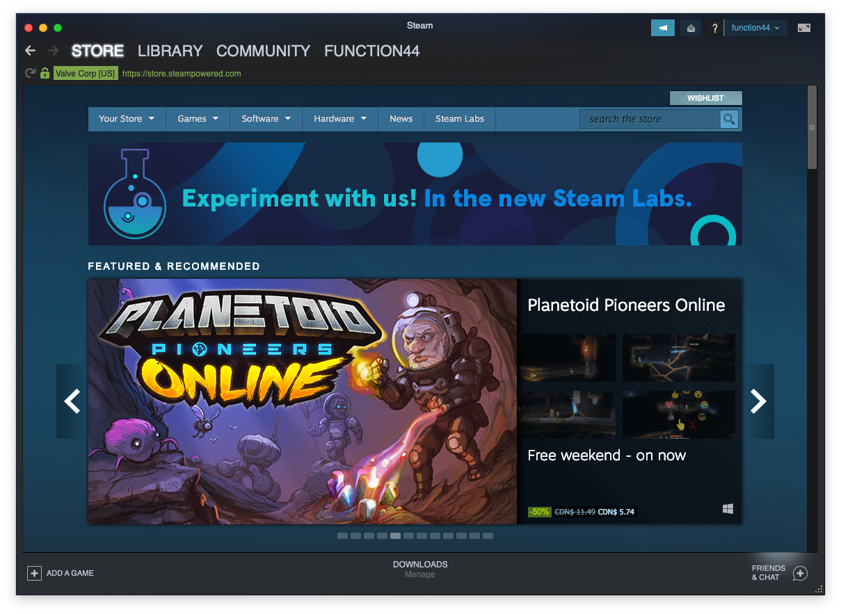download free steam games for mac