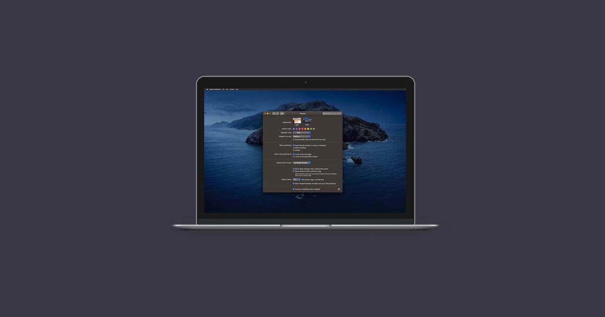 Cách tận dụng tối đa Mac Dark Mode 2