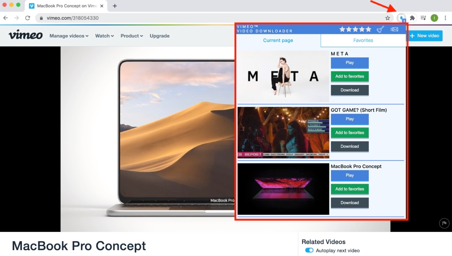 How vimeo downloader works on your Mac