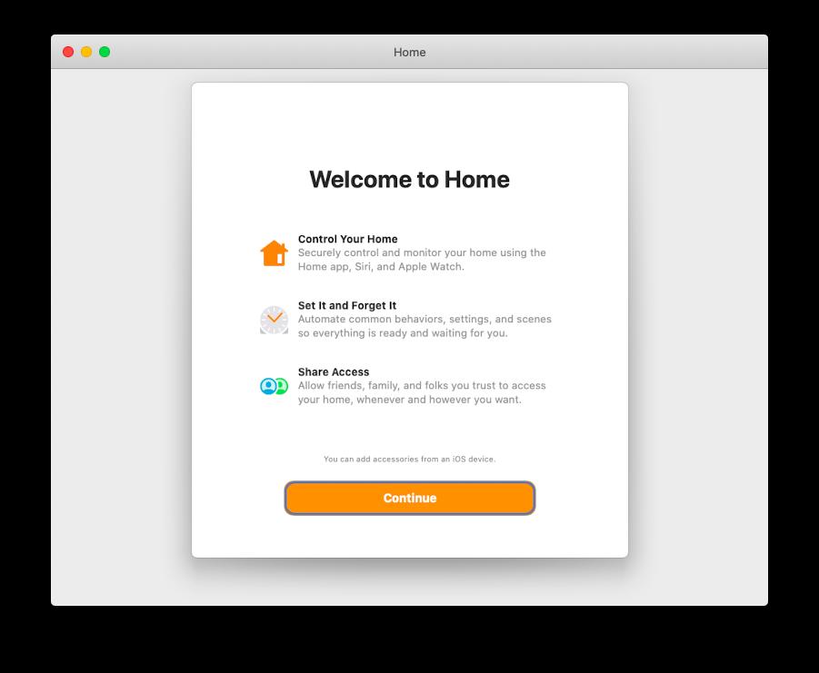 Home Mac app Apple install