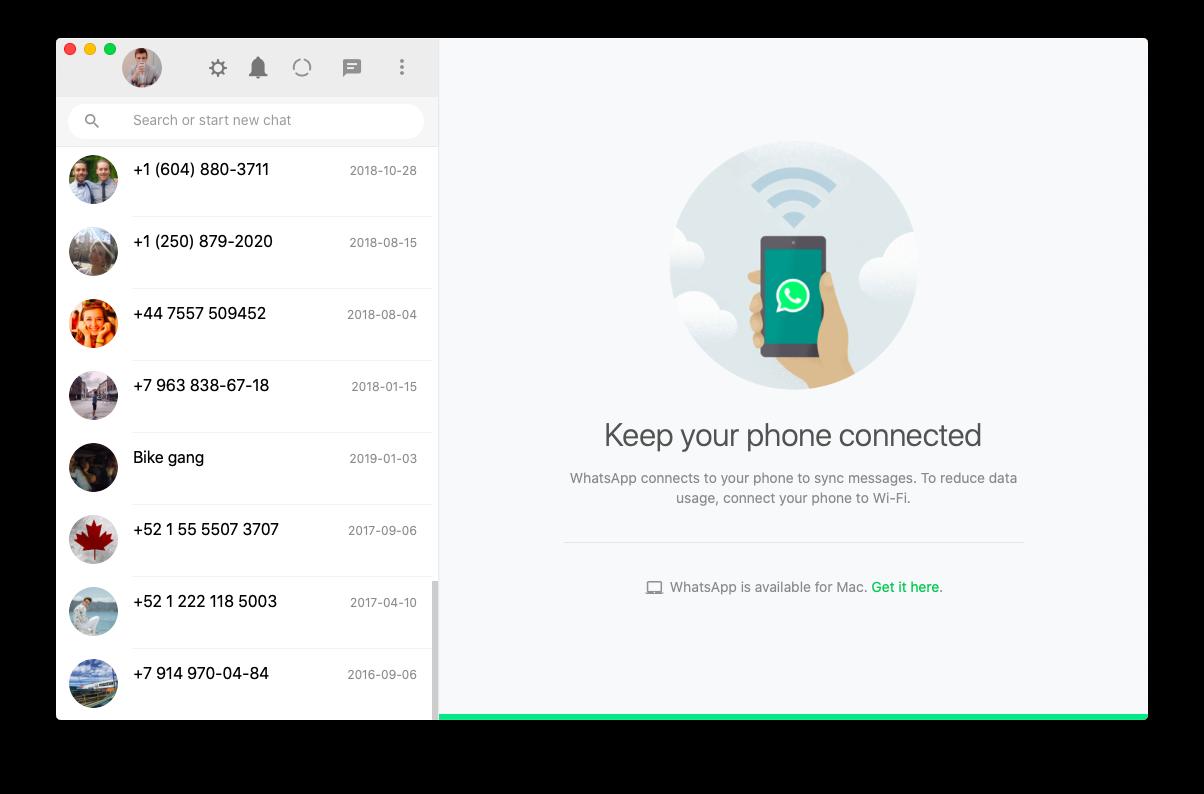 ChatMate for Whataspp Mac social app