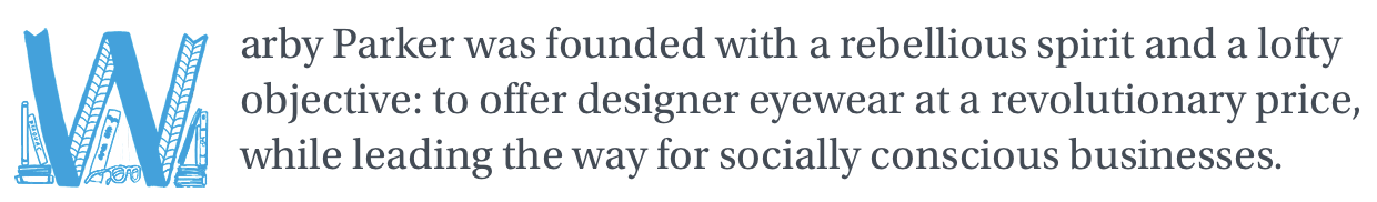 Warby Parker's quote