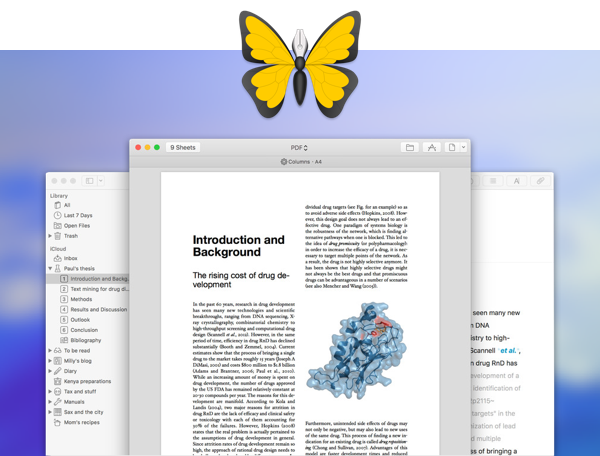 Ulysses is one of the most popular apps for writers